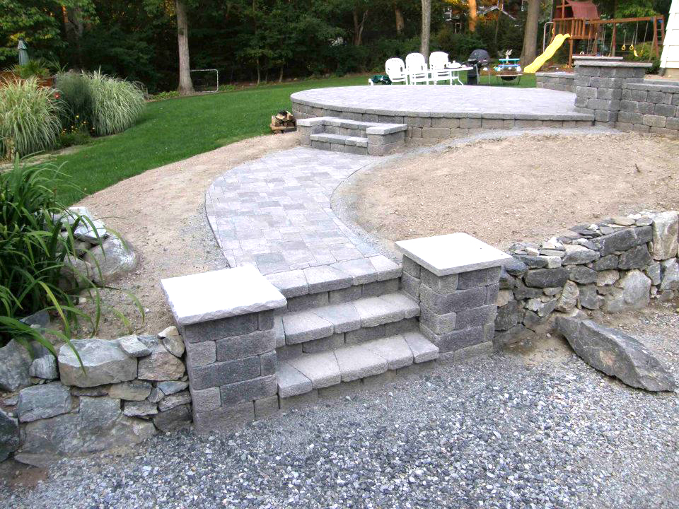 hardscaping sussex county nj paver patio sparta nj