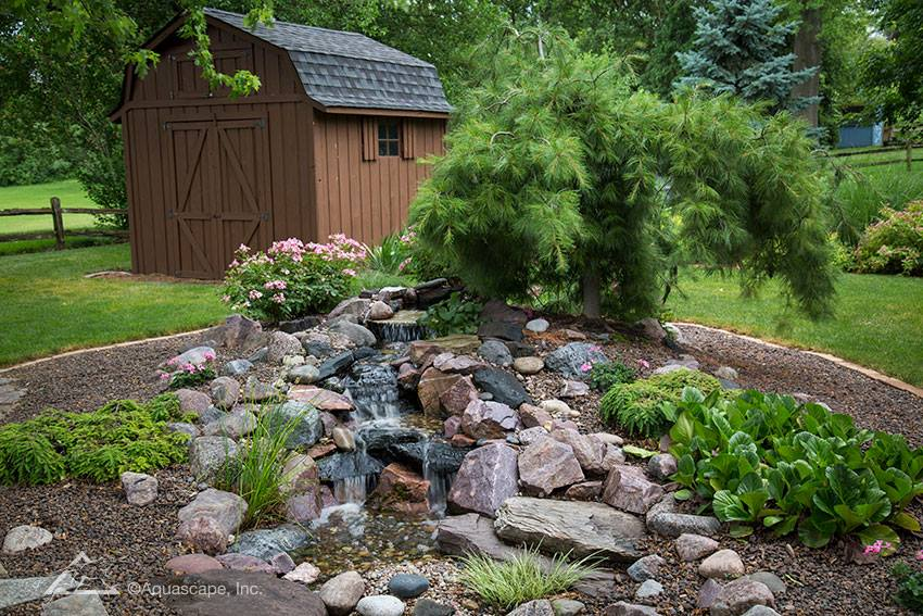 water features sussex county nj ponds waterfalls fountains