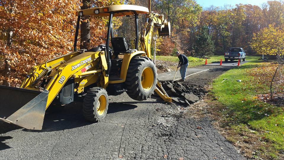 site prep vernon nj sussex county nj excavating